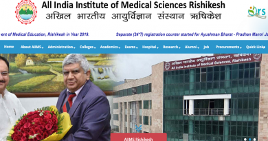 AIIMS Rishikesh Recruitment 2019