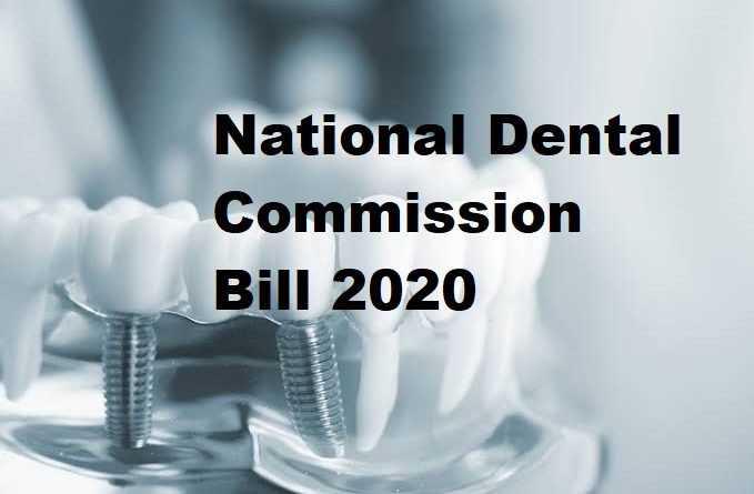National Dental Commission Bill 2020