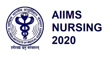 AIIMS nursing admission