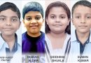 Four CMS students secure first rank globallyin International Benchmark Test (IBT)