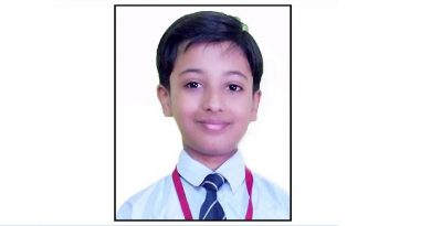 CMS student bags silver medal in National Hindi Olympiad